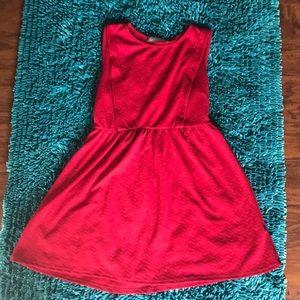 Red dress, never worn.